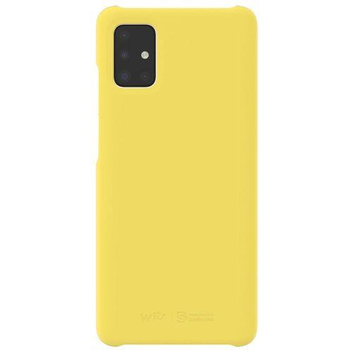 Чехол Samsung Galaxy A51 WITS Premium Hard Case (GP-FPA515WSAYR) жёлтый фото