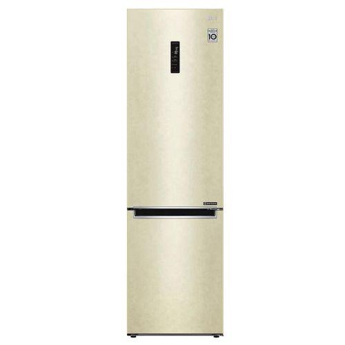 Холодильник LG GA-B509MESL бежевый фото
