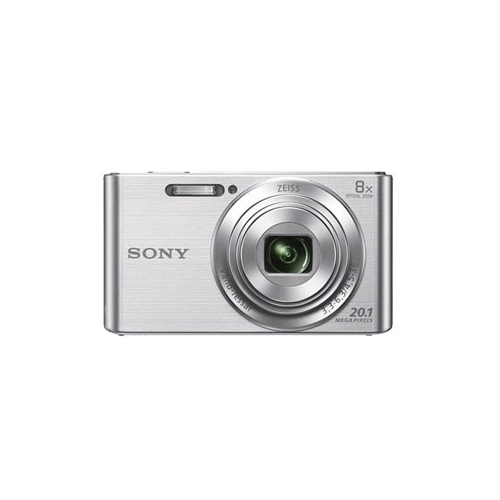 Цифровой фотоаппарат Sony DSC-W830 silver серебристый серебристого цвета