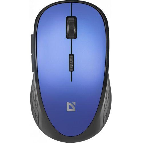 Мышь беспроводная Defender MM-755 синий