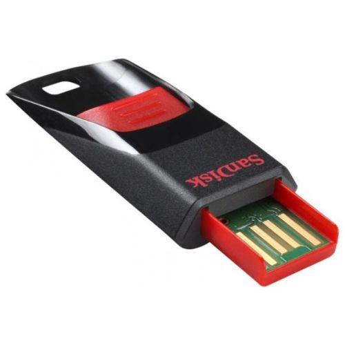 Флешка SanDisk Cruzer Edge 16Gb чёрный/красный цвет чёрный/красный
