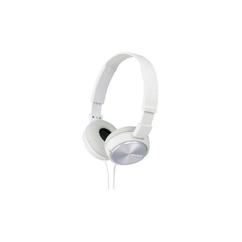 Проводные наушники Sony MDR-ZX310 белый белого цвета