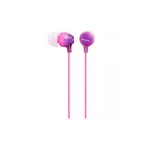 Проводные наушники Sony MDR-EX15LP фиолетовый фиолетового цвета