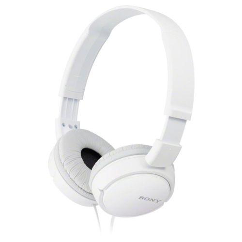 Проводные наушники Sony MDR-ZX110 белый белого цвета