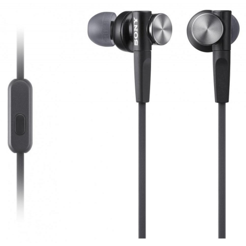 Проводные наушники Sony MDR-XB50AP чёрный фото