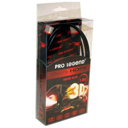 Видеокабель Pro Legend HDSL1 HDMI - HDMI 1 метр фото