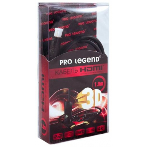 Видеокабель Pro Legend OX-HDMI1V1.4LX HDMI - HDMI 1 метр фото