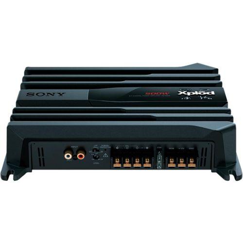 Автомобильный усилитель Sony XM-N502 черный черного цвета