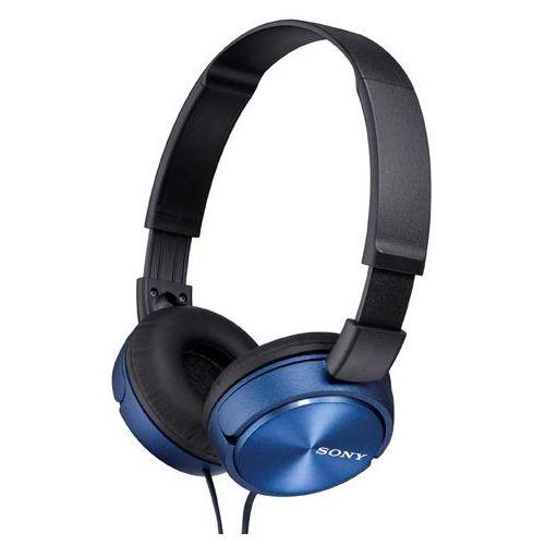 Проводные наушники Sony MDR-ZX310 синий фото