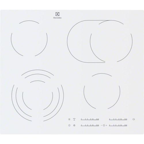 Встраиваемая электрическая панель Electrolux EHF 96547 SW белый белого цвета