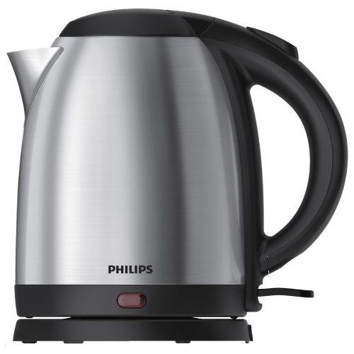 Электрический чайник Philips HD9306 серебристый/черный фото