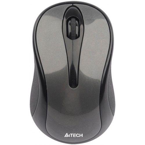 Мышь беспроводная A4tech G3-280A grey