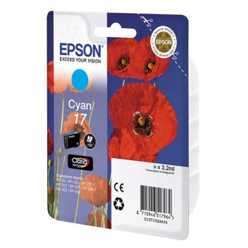 Картридж для струйного принтера Epson Expression Home XP 17 blue фото