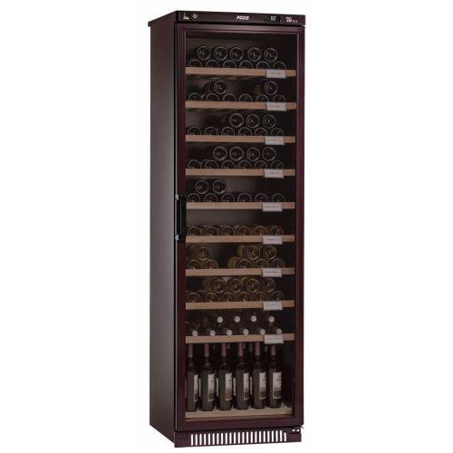 Винный шкаф Pozis ШВ-120 вишнёвый