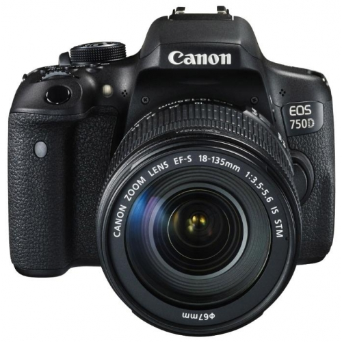 Зеркальный фотоаппарат Canon EOS 750D EF-S 18-135mm IS STM