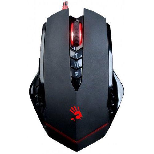 Мышь проводная A4tech A4 Bloody V8 чёрный черного цвета