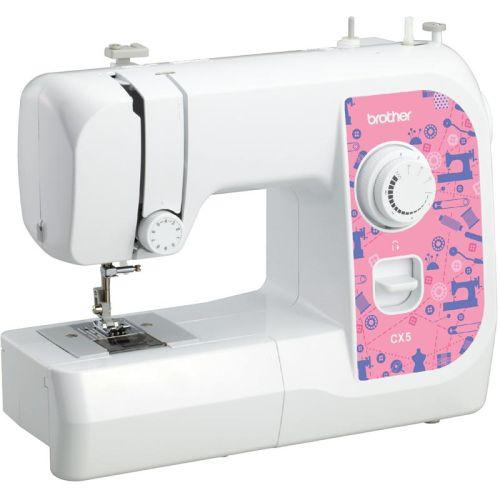Швейная машина Brother CX5 белый белого цвета