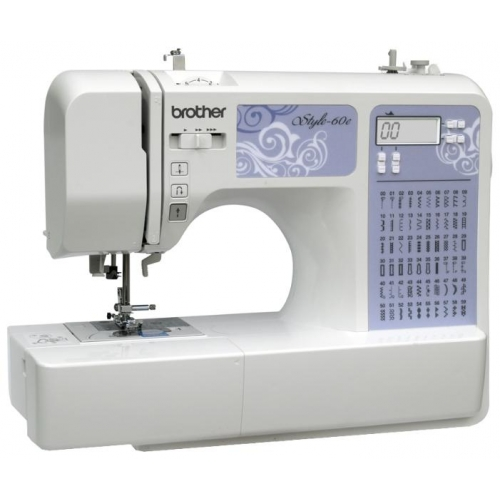 Швейная машина Brother Style 60e белый белого цвета