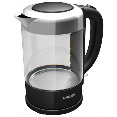 Электрический чайник Philips HD9340 черный черного цвета