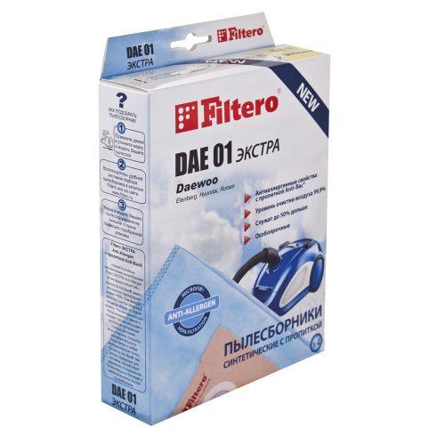 Мешок-пылесборник Filtero DAE 01 (4) ЭКСТРА фото