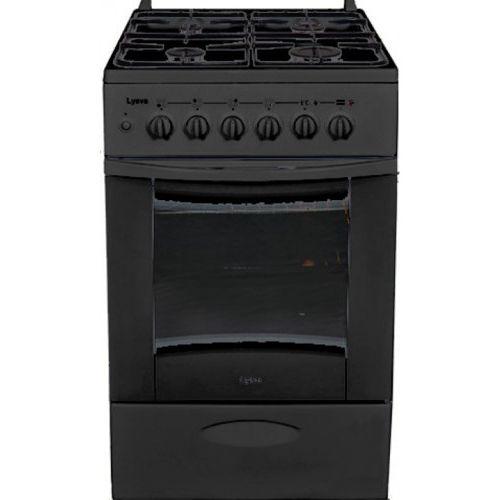 Газовая плита Лысьва ГП 400 М2С-2у черная, б/крышк черный фото