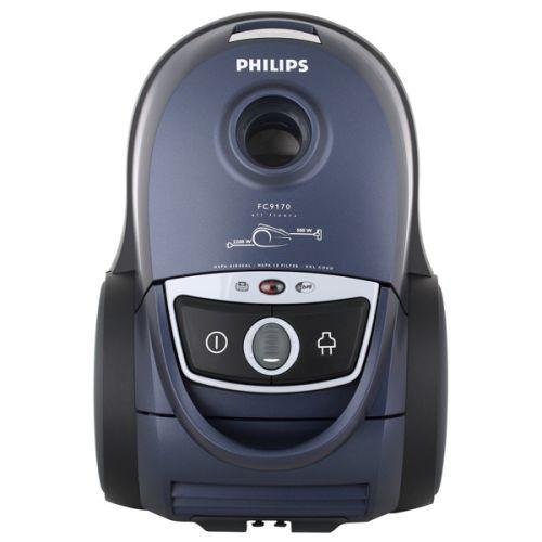 Пылесос с пылесборником Philips FC9170/02 синий/черный