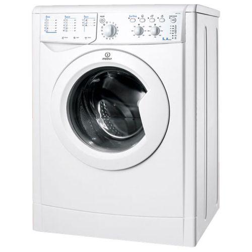 Стиральная машина Indesit IWSC 5105 белый белого цвета