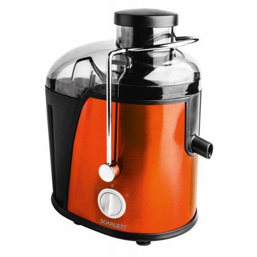 Соковыжималка Scarlett SC-JE50S16 оранжевый/чёрный цвет оранжевый/чёрный