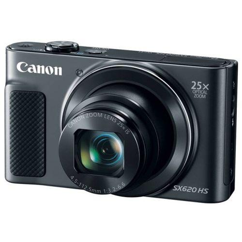 Цифровой фотоаппарат Canon PowerShot SX620 HS чёрный черного цвета