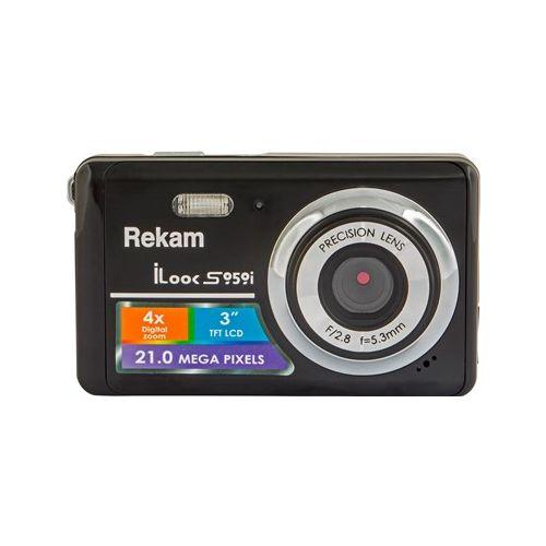 Цифровой фотоаппарат Rekam S959i чёрный черного цвета