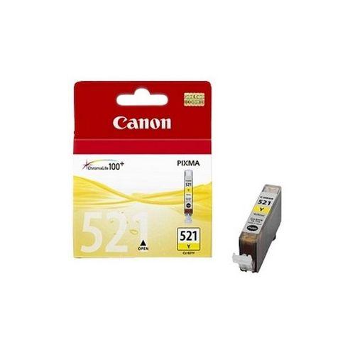 Картридж для струйного принтера Canon CLI-521Y yellow фото