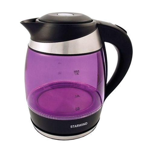 Электрический чайник Starwind SKG2217 фиолетовый фото