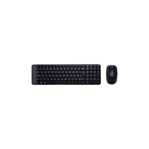 Комплект клавиатура и мышь Logitech MK220