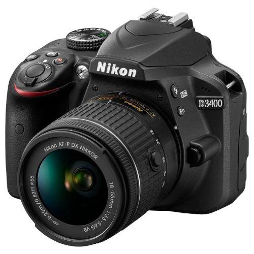 Зеркальный фотоаппарат Nikon D3400  AF-P 18-55 non VR