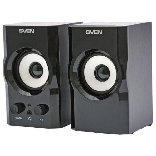 Компьютерные колонки Sven SPS-605 черный черного цвета