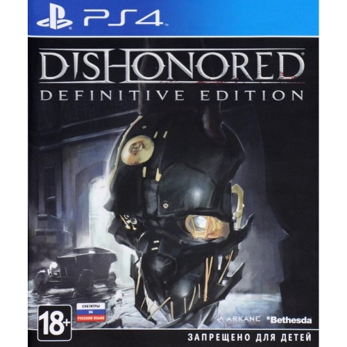 Игра для Sony PS4 Dishonored. Definitive Edition фото