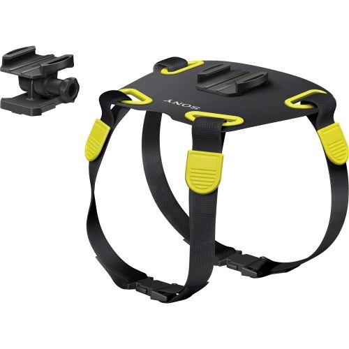 Крепление на собаку Sony AKA-DM1 чёрный/желтый цвет чёрный/желтый