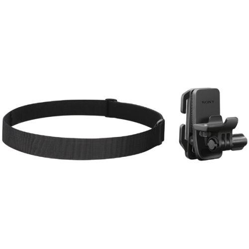 Крепление на шлем (ремешок) Sony BLT-CHM1 черный черного цвета
