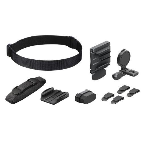 Крепление на шлем (ремешок) Sony BLTUHM1 черный черного цвета