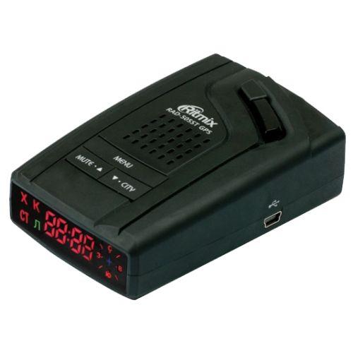Радардетектор Ritmix RAD-505ST GPS черный черного цвета