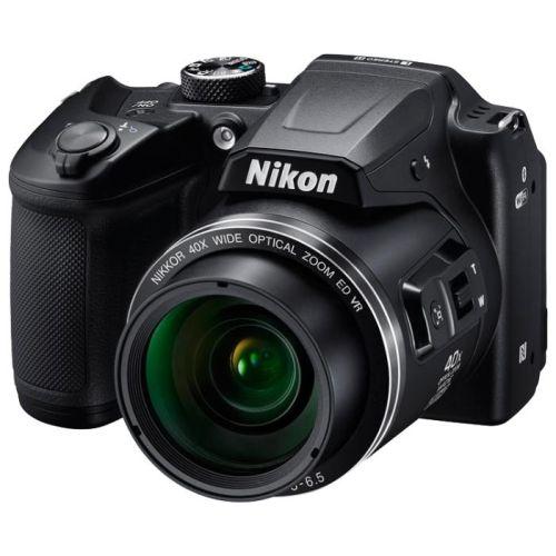 Цифровой фотоаппарат Nikon Coolpix B500 чёрный черного цвета
