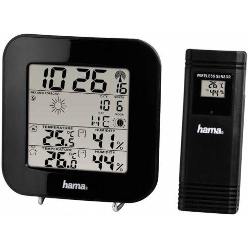 Метеостанция HAMA EWS-200 черный черного цвета