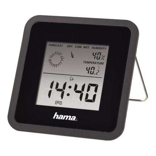 Метеостанция HAMA TH-50 чёрный черного цвета
