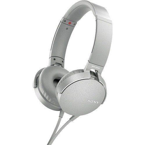 Проводные наушники Sony MDRXB550AP белый белого цвета