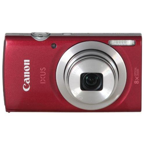Цифровой фотоаппарат Canon IXUS 185 красный красного цвета