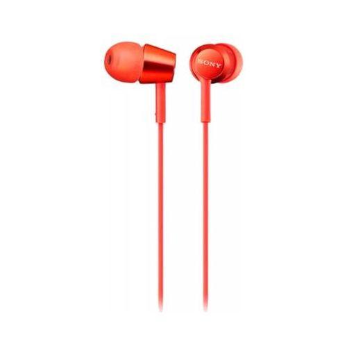 Наушники Sony MDR-EX155R красный красного цвета