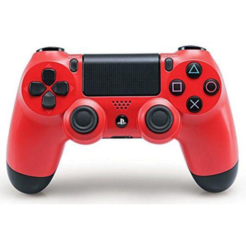Геймпад для приставки Sony Dualshock 4  Wireless Controller NEW красный красного цвета