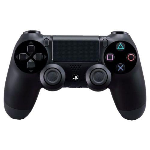 Геймпад для приставки Sony Dualshock 4 (CUH-ZCT2E) чёрный черного цвета