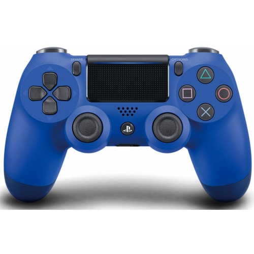 Геймпад для приставки Sony Dualshock 4 Wireless Controller NEW синий синего цвета