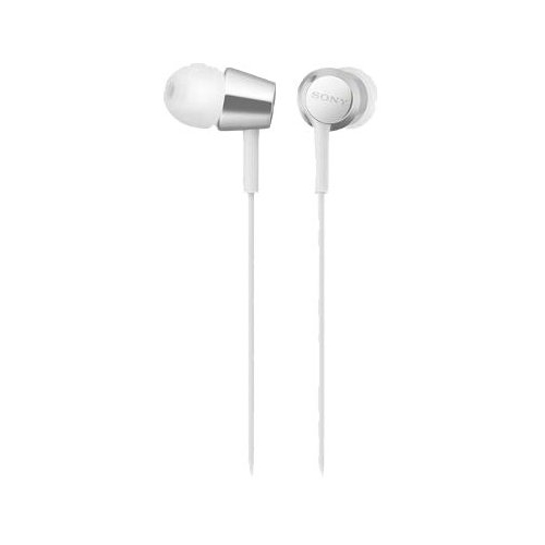 Проводные наушники Sony MDR-EX155 белый белого цвета